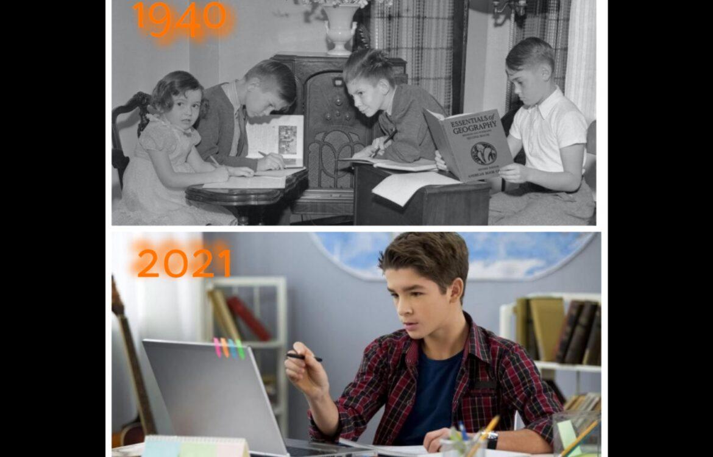 Μάθημα τηλεκπαίδευσης από το παρελθόν